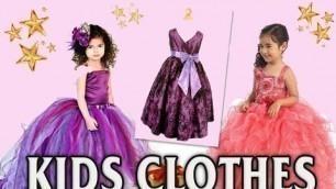 'Kids designer clothes  2016-2017 girl\'s dresses models'