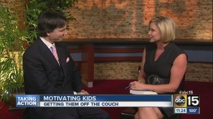 'How to motivate kids to get off the couch'