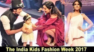 'H0t Actress Nia Sharma At The India Kids Fashion Week 2017'