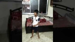 'Home Fitness Video From Cute Kids, Lockdown 2020(3)'