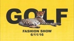 'Tyler, the Creator - Runway Music for Golf Wang Fashion Show 2016'