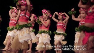 'Tahitian Dance - Kids Classes / Tahiti Dance Fitness / Polynesian Dance/Ori Tahiti/ タヒチアンダンス'