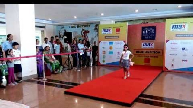 'Indian Kids fashion show Delhi Auditions'