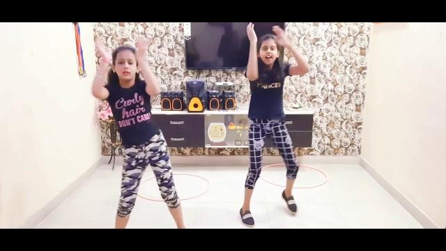 'STAR KIDS   Dance Fitness   Song - Ankhiyan Milaaon kabhi  Performed By - Anshika And Harshita '