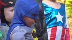 'Kids with cancer shine at superhero fashion show'
