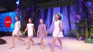 "'\""CHILDREN\'S FASHION FROM SPAIN\"" catwalk at CBME SHANGHAI 2016'"