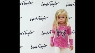 'Victoria Rocking Her 1st Kid Fashion Show'