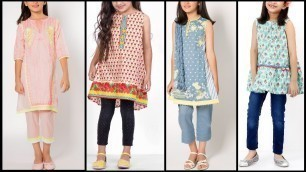 'Latest Kids Fashion | outfits for baby Girls 2017 | fashion trends for cute kids | Eid collection'