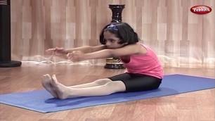 'Pashchimottanasan   Yoga for Children in Tamil    Yoga For Kids Complete Fitness'
