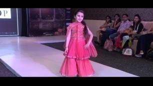 'INDIA KIDS FASHION FEST   KIDS RAMP WALK'