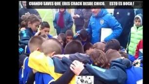 'ESTO ES BOCA, KIDS MOTIVATE TEAM'