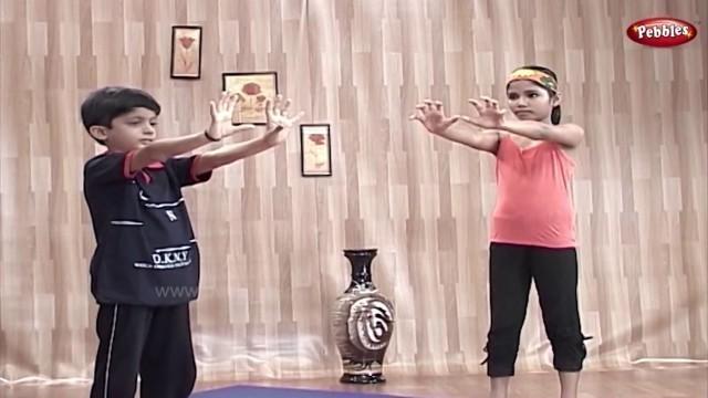 'Body Management | Yoga for Children in Telugu | Yoga For Kids Complete Fitness'