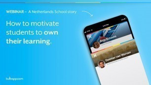 '[WEBINAR] How to motivate students to own their learning'