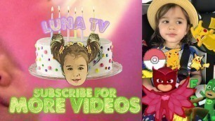 'Where could my Luna be? Kids Toddlers Fitness Dance Video- Binky Be Remix Trampoline Mashup Fun Jump'