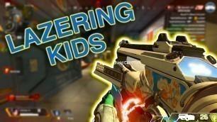 LAZERING KIDS IN DUOS! (APEX LEGENDS SEASON 4)