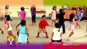 'School exercises for kids - Spontaneous dance fitness and social interaction for students'
