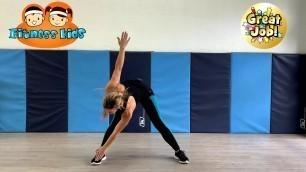 'Fitness Kids Aerobics Fitness Class'