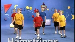 'Silly Sally the Clown- Do You Know the Muscle Man?-Kids Fitness'