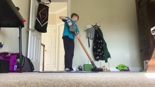 'Son Cleans His Room | My Trick To Motivate Kids To Clean'