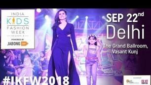 'Live Now   India Kids Fashion Week LIVE   Delhi'