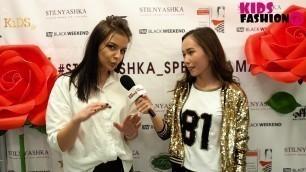'Stilnyashka ОХТА МОЛЛ: премьера весенне-летней коллекции одежды! Репортаж Kids Fashion TV'