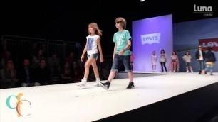 'Levi\'s Kids Fashion Show SS15 at Children\'s Fashion Cologne July 2014'