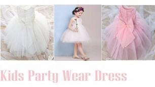'Fashion Formal Newborn Wedding Dress Baby Girl ! Kids Party Wear Dress 2017'