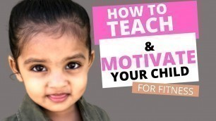'How To Teach Kids and Motivate Them // Learning of Fitness Training for Kids //'