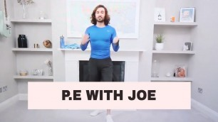 'PE WITH JOE @THEBODYCOACH | KIDS PE LESSONS AT HOME | FITNESS WORKOUT FOR KIDS'