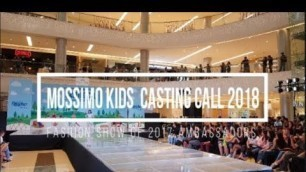 'Mossimo Kids Fashion Show 2018 with the 2017 Ambassadors'
