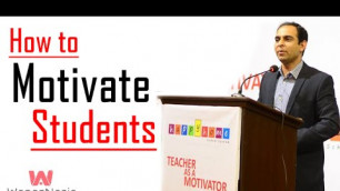 'How to Motivate Students -By Qasim Ali Shah | In Urdu'