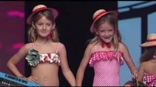 'El Borquito De Papel Kids Swim Collection 2017 Gran Canaris Swimwear Fashion Week'