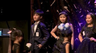 'KIDS fashion show runway 2017 兒童模特兒Catwalk表演 Vincent'