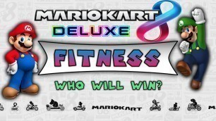 'Mario Kart Fitness! [Kids and Family Workout][P.E. Remote Learning]'