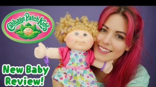 'NEW Cabbage Patch Kids Unboxing! 2017 Fashion'