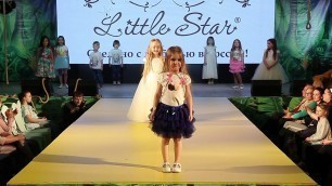 '#35 7  Little Star  Fashion Week Kids Chelyabinsk весна лето 2017'