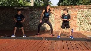 'Kids Workout Video Month 1   LRG Fitness'