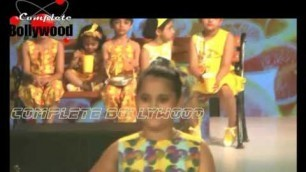 'Mimoh Chkaraborty show stopper for India Kids Fashion Week'