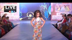 'city live     India kids fashion walk part 2 2017'