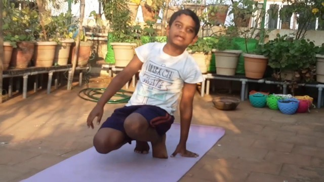 'Stretching Exercises for  Kids'
