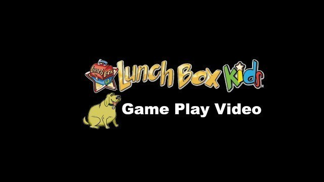 'LunchBox Kids Health and Fitness Board Game - Regular Game Play Video'