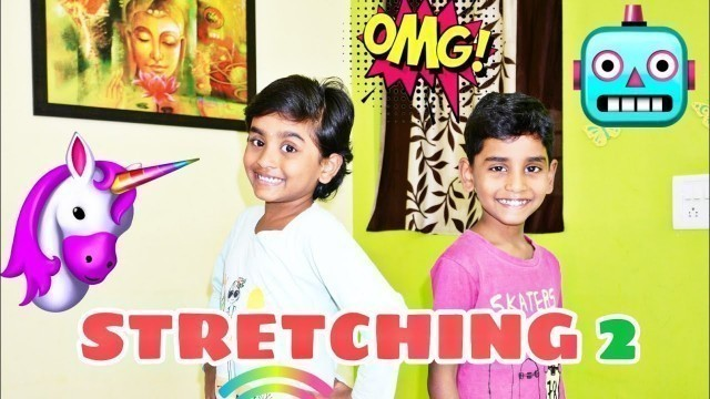 'Kids Fitness Stretching Video 2 - Maaya Maara'