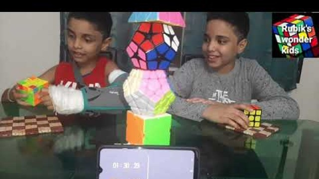 'how to motivate children in solving the 3x3 cube ?'