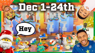 Advent Calendar LEGO City - ALL 24 DAYS COMPILATION - Funny Video and Unboxing for Kids and Parents