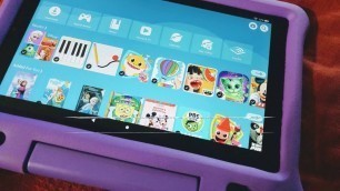 """Review: Fire HD 10 Kids Edition Tablet – 10.1"""" 1080p full HD display, 32 GB, Blue Kid-Proof Cas..."""