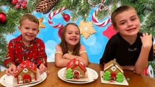 Making Christmas Gingerbread Dog Houses + Kids Advent Calendars