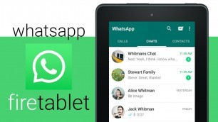Download WhatsApp to the Amazon Fire 7 Tablet - 2020 Guide