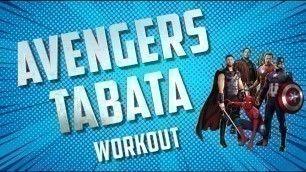 '\'AVENGERS\'  KIDS TABATA WORKOUT'