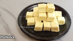 90's kids favorite sweet | Halkova Recipe | Maida Burfi | Palkova Recipe