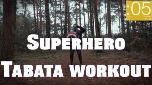 '[SUPERHERO TABATA] Full Body Workout for Kids - Glenn Higgins Fitness Remix'